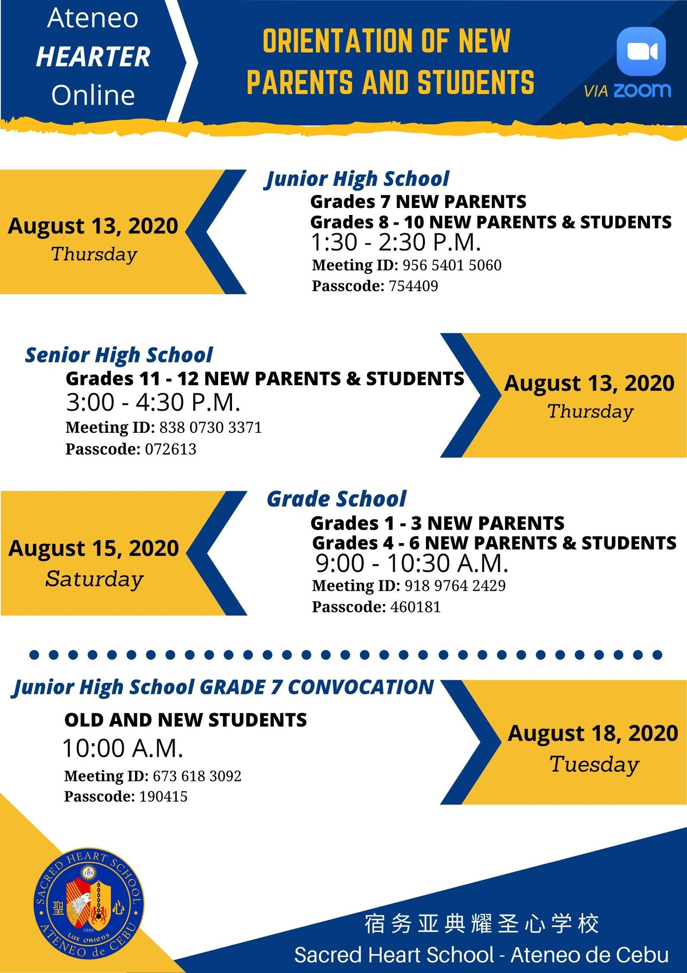 New Parens and Students Orientation