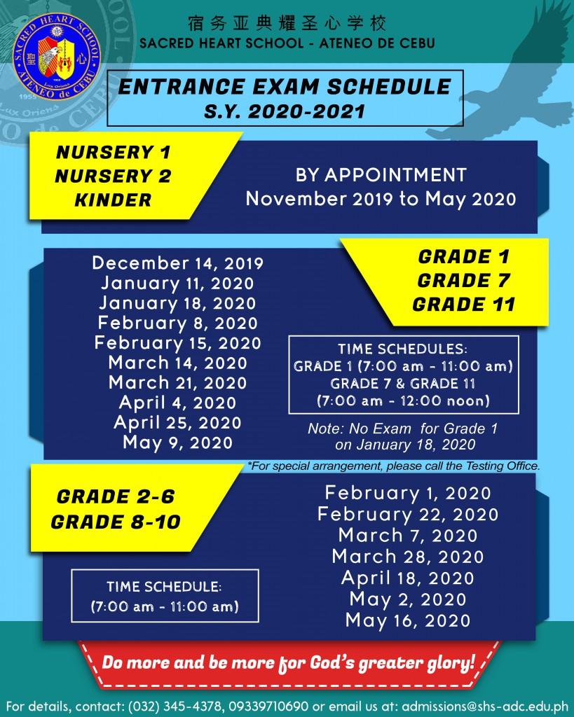 entrance exam infographics