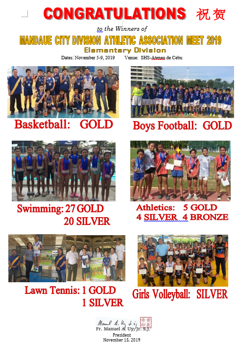 Mandaue City Division Athletic Association Meet 2019 Elementary Division