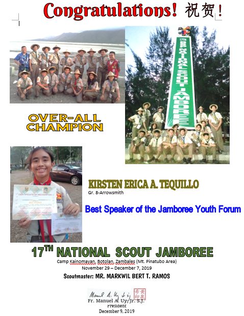 Scout National Jamboree 2019