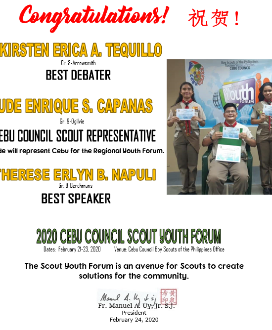Scout Youth Forum 2020
