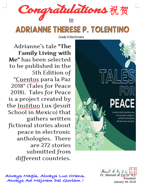 Tales for Peace 2018