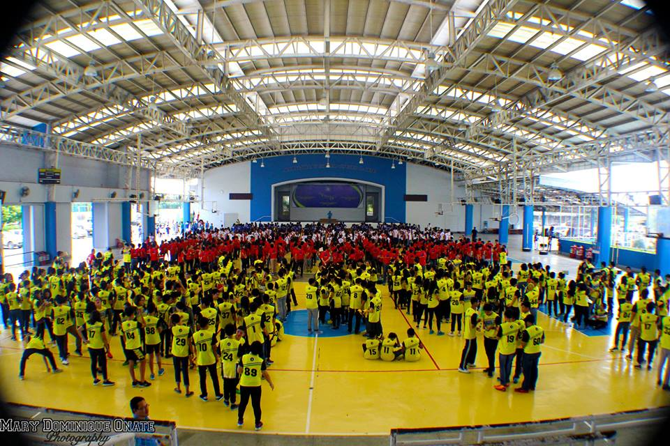 HS Intramurals Opening 2015: Four Houses, One Heart!