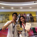 Three Ateneo Hearters hailed 1st Place in the secondary division of the CESAFI Vocal Solo and Duet competition