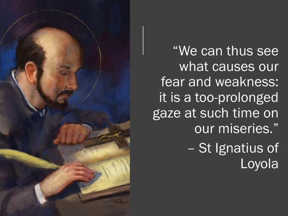 Ignatius Writes: Why We Get Discouraged
