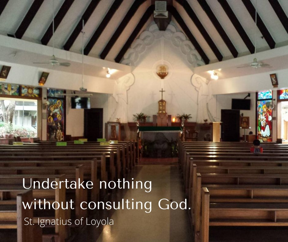 Undertake Nothing without consulting God