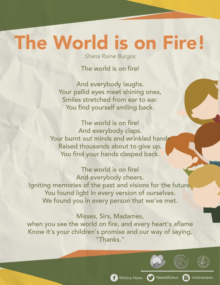 The World is on Fire!